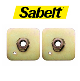 Sabelt Harness Backing Plates