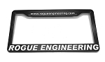 Rogue Engineering License Plate Frame