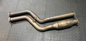 Used, OEM E46 M3 Section 1 exhaust pipe